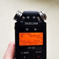 【動画撮影やサンプリングに超〜便利!】TASCAM DR-05