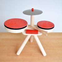 【予算5,000円未満】こどものプレゼントに最適 おもちゃのドラム PLANTOYS 6410