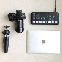 【おすすめ】オンラインWEB会議 一眼カメラを使ってライブ配信! ATEM mini